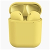 Wireless Bluetooth Earphones with Charging Case (Yellow)