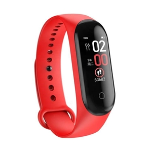Fitness Activity Tracker Watch (Red)