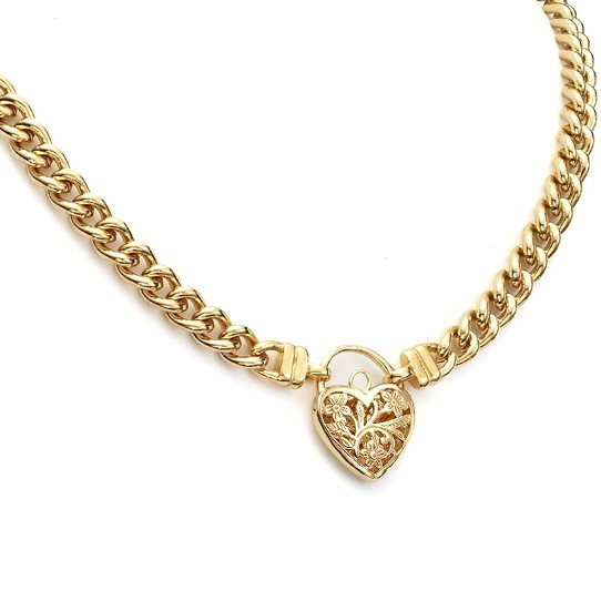 18ct Yellow Gold Layered Euro Chain Necklace