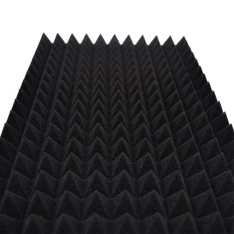 50cm Sound Proofing Absorption Panel Acoustic Pyramid Foam 12 PCS