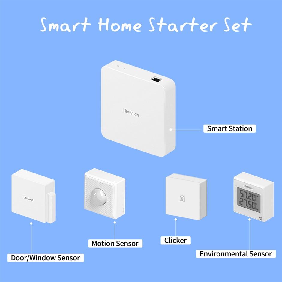 Smart Station Motion Door/Window Sensor Environment Clicker Motion Detector