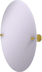 Allied Brass Frameless Oval Tilt Mirror