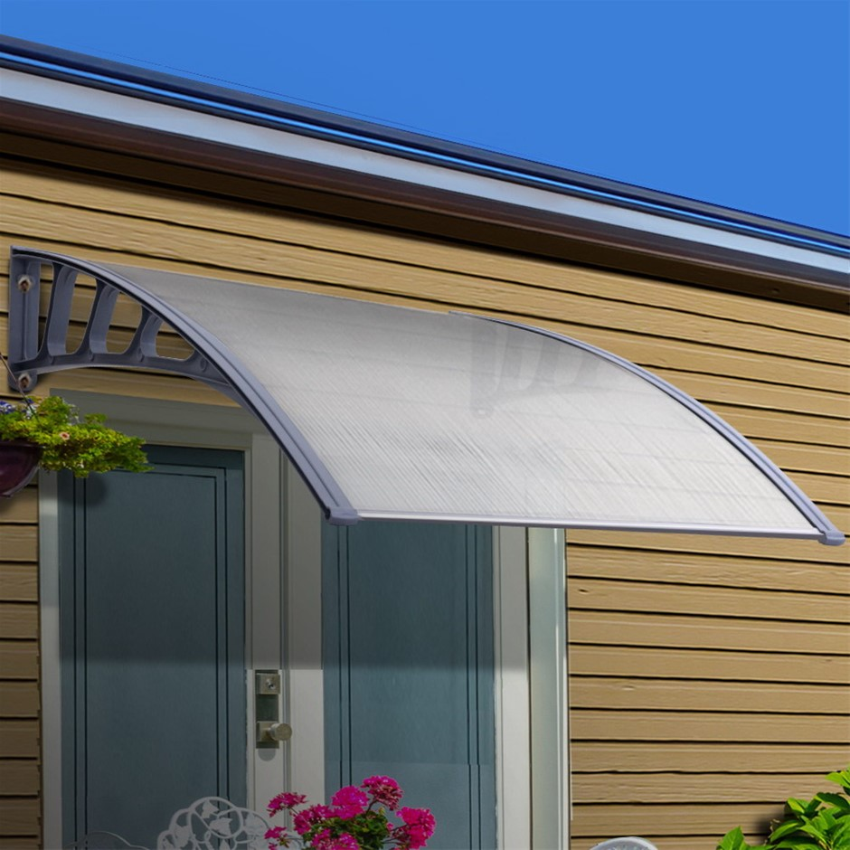 Instahut Window Door Awning Canopy Outdoor Patio Sun Shield 1.5mx2m DIY