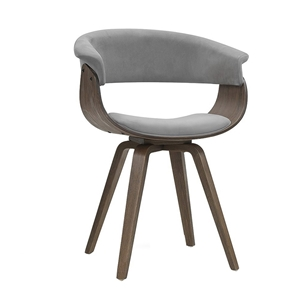 Artiss Dining chairs Bentwood Chair Velv