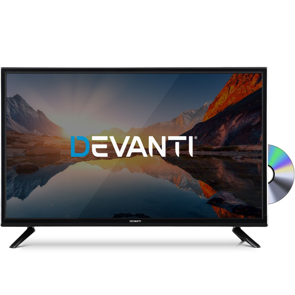 Devanti LED TV 32 Inch Digital Built-In DVD Player LCD LG Panel USB HDMI