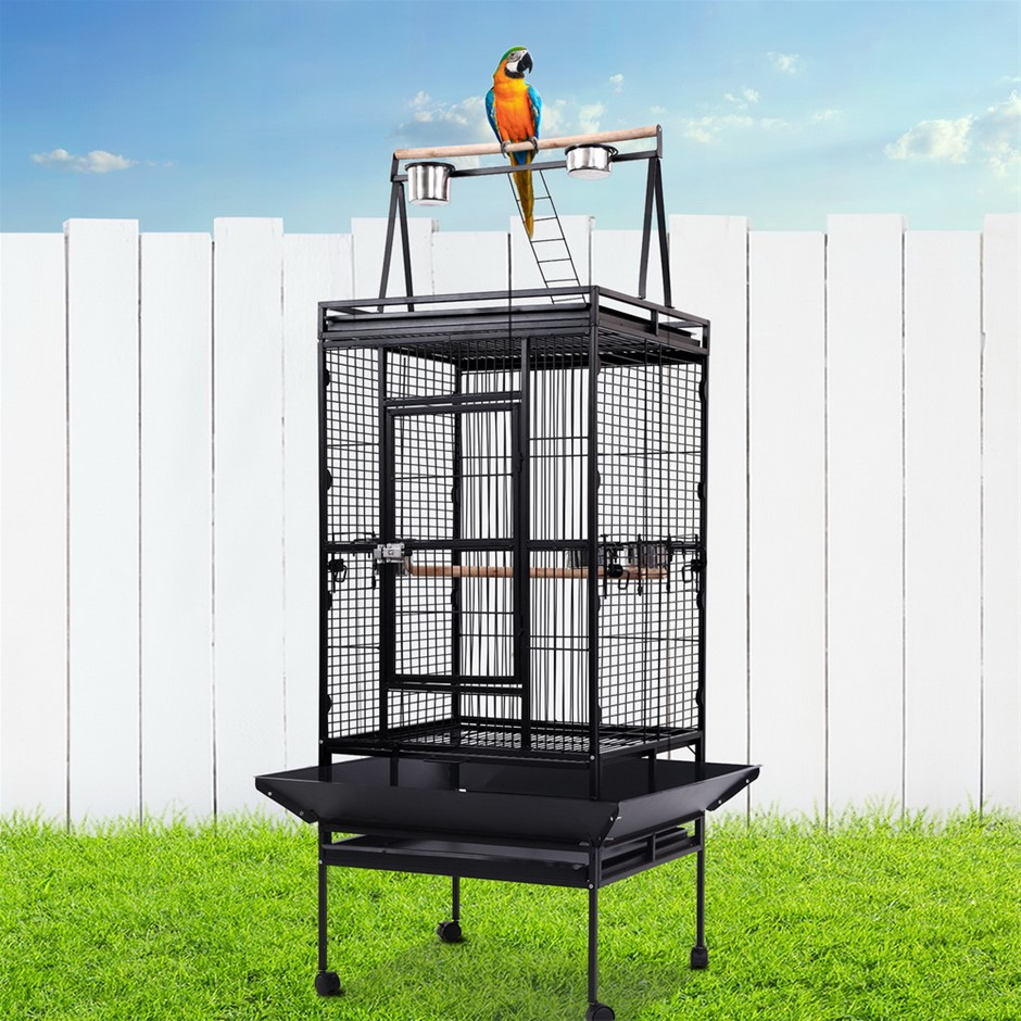 i.Pet BirdCage Pet Cages Aviary 173CM Large Travel Stand Budgie Parrot Toys