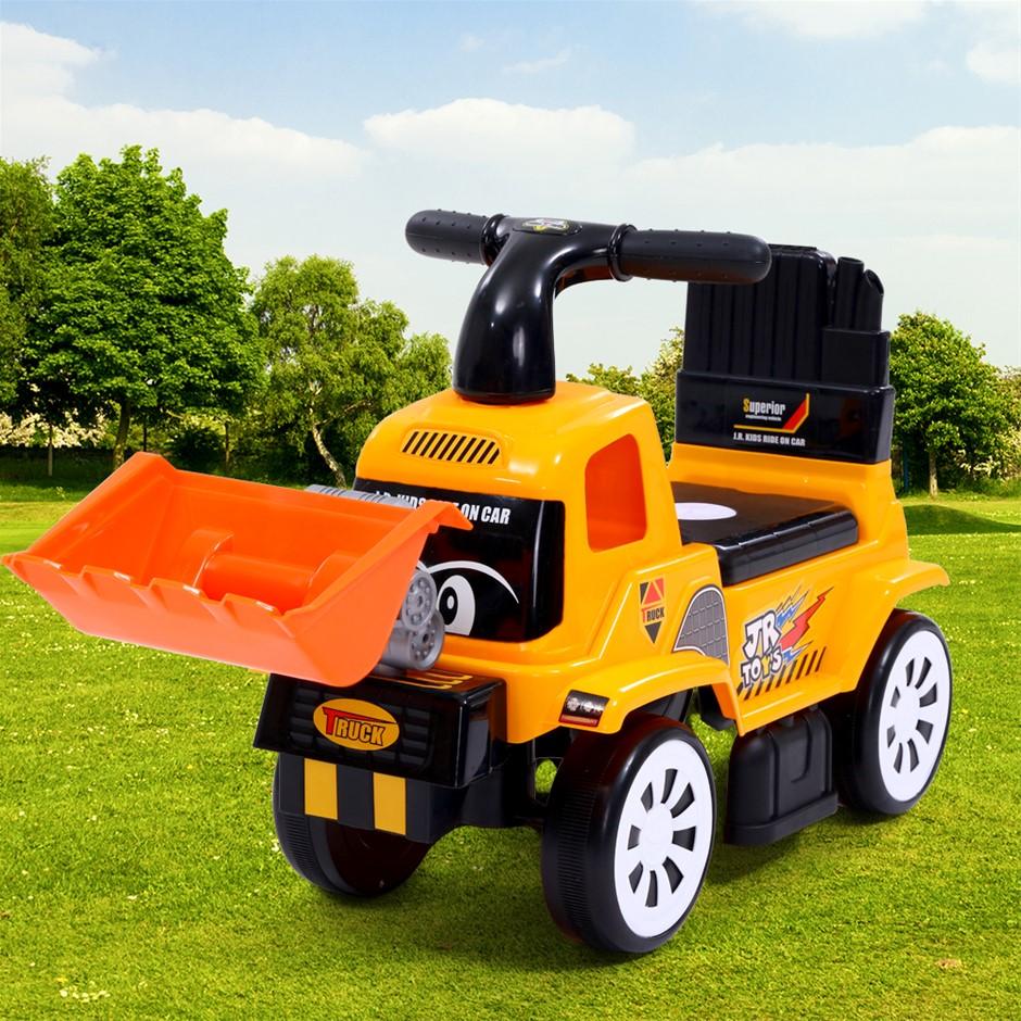 Keezi Kids Ride On Car Bulldozer Digger Toys Truck Sand Excavator Gift