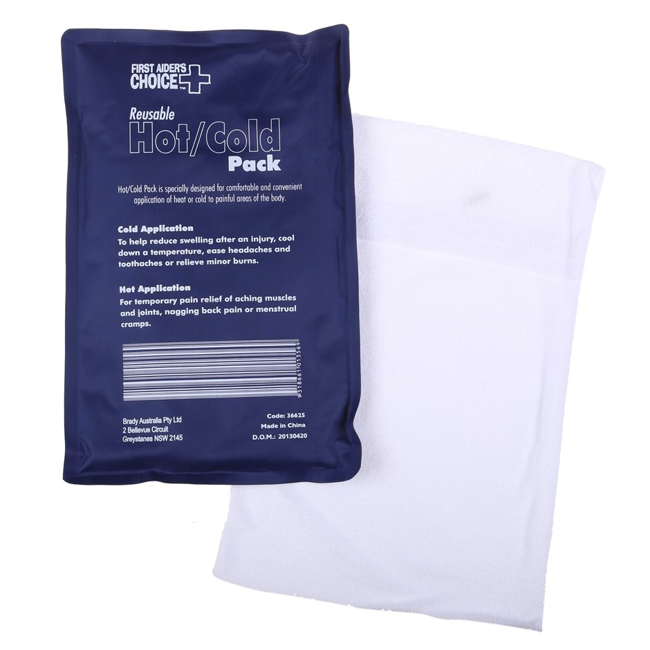 5 x Reusable Deluxe Hot/Cold Packs (Large) Buyers Note - Discount Freight R