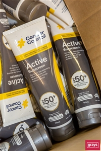 Cancer Council 65x Unused 50+ Sunscreen