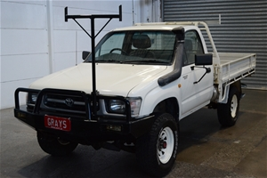 1998 Toyota Hilux (4x4) Manual Cab Chass
