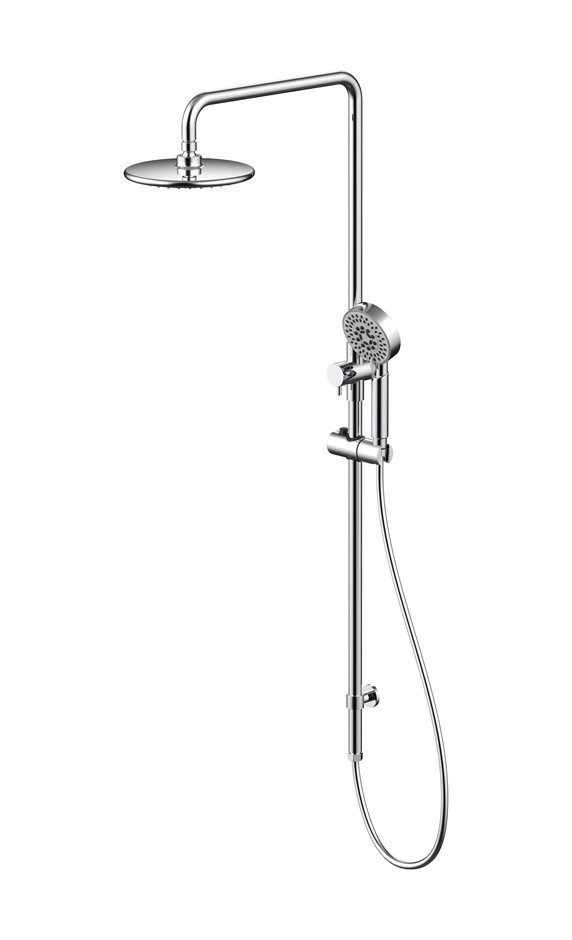 Monsoon Showers Shower System with Round Shower Head