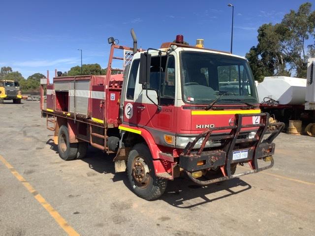 1998 Hino FT1J 4 x 4 Water Truck