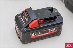 Milwaukee M18HB6 18VDC 6.0Ah Battery