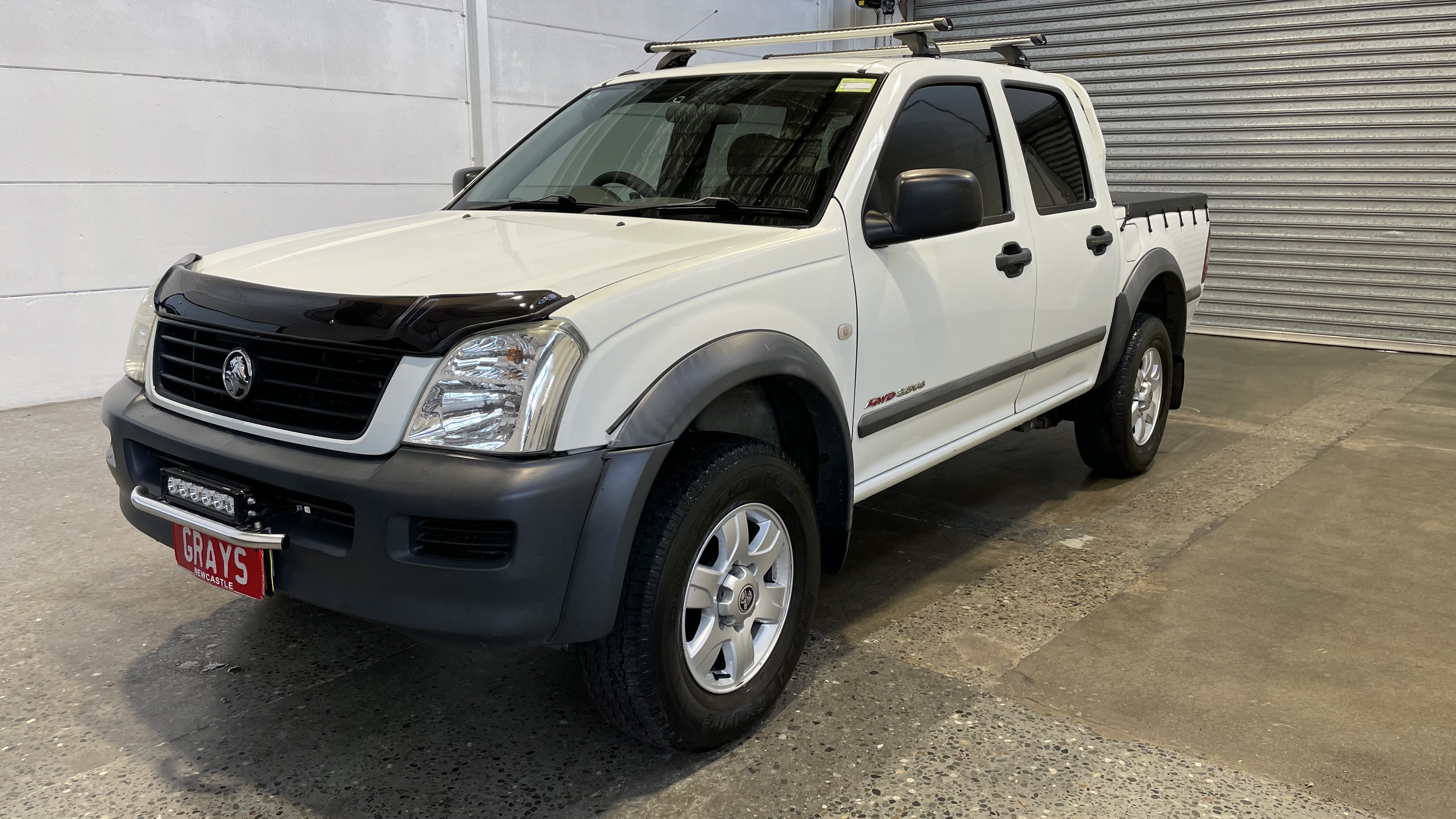 2003 Holden Rodeo LX (4x4) RA Automatic Dual Cab