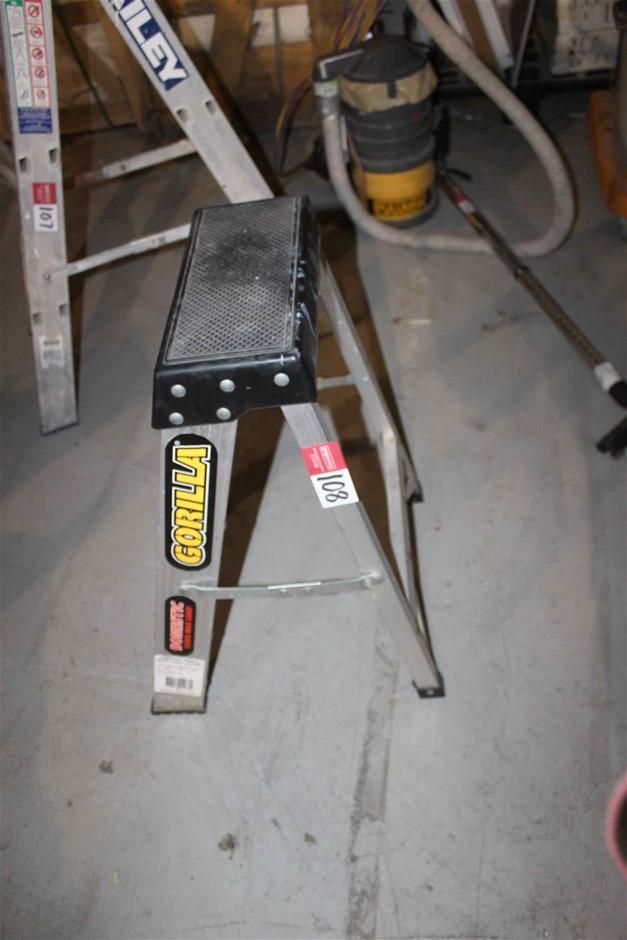 """Step Ladder Aluminium """"Gorilla"""" Brand"""