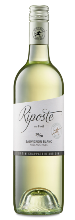 Riposte Foil Sauvignon Blanc 2020 (12x 750mL). Adelaide Hills