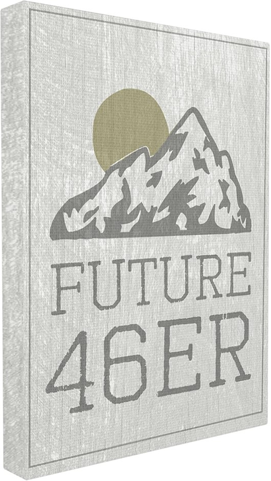Home Décor Collection Future 46er Hiking Adirondacks Canvas Wall Art