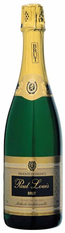 Paul Louis Blanc de Blancs Brut NV (12 x 750mL), Loire, France.