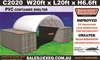 2021 Unused Heavy duty 20ft Container Shelter