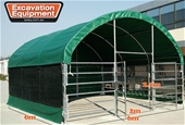 2021 Unused 6m x 6m Enclosed Shelters - Adelaide