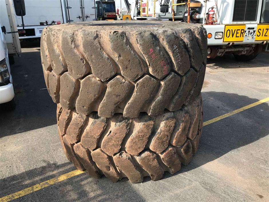 2 x Loader Tyres