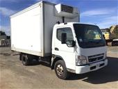 2009 Mitsubishi Canter 4 x 2 Refrigerated Body Truck