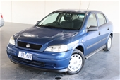 Unreserved 2002 Holden Astra City TS Manual