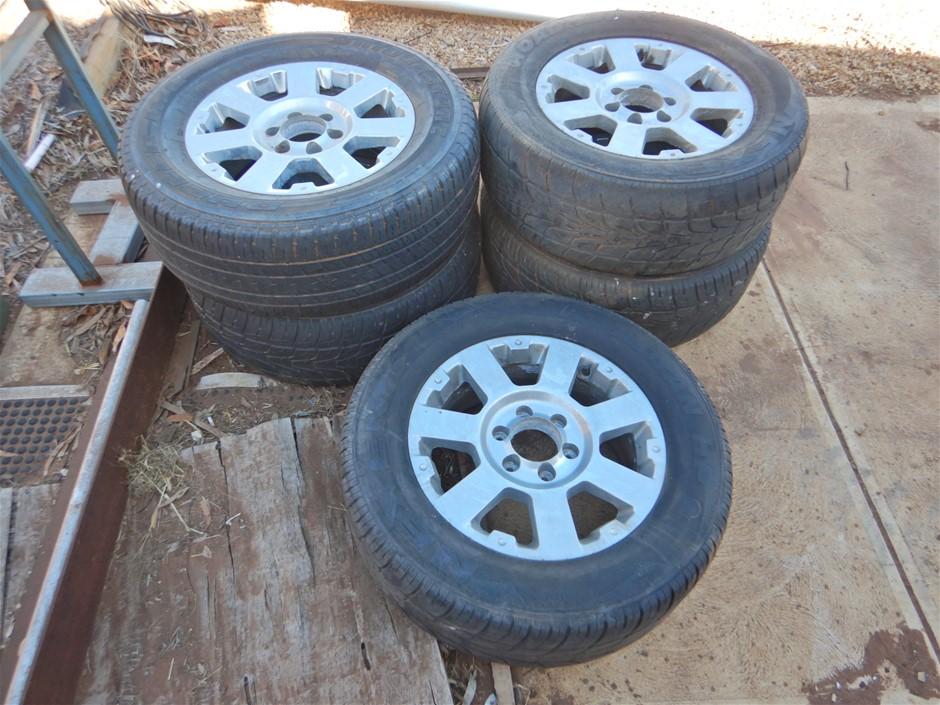 Qty of 5 x 18 Inch Alloy Wheels (Linwood , SA)