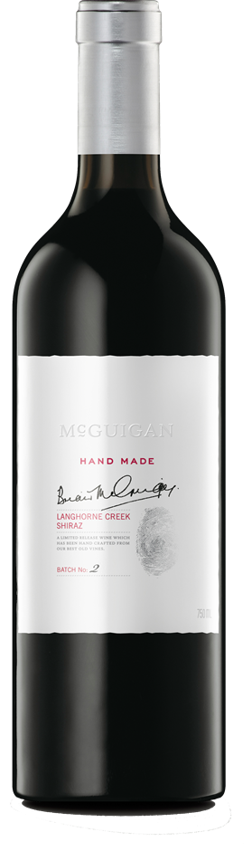 McGuigan Hand Made Shiraz 2012 (6 x 750mL) Langhorne Creek, SA