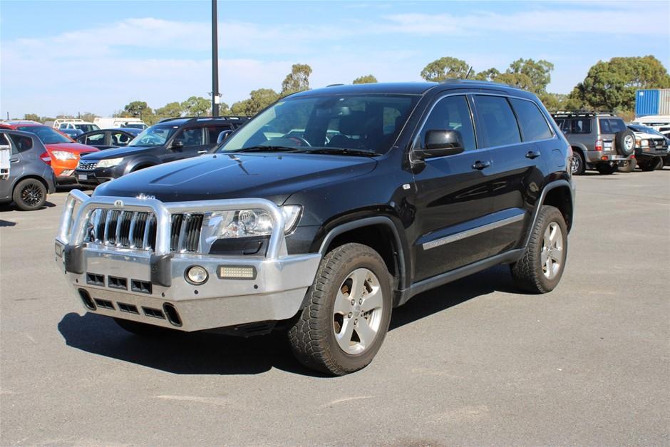 2012 Jeep Grand Cherokee Laredo (4x4) WK Turbo Diesel Automatic Wagon