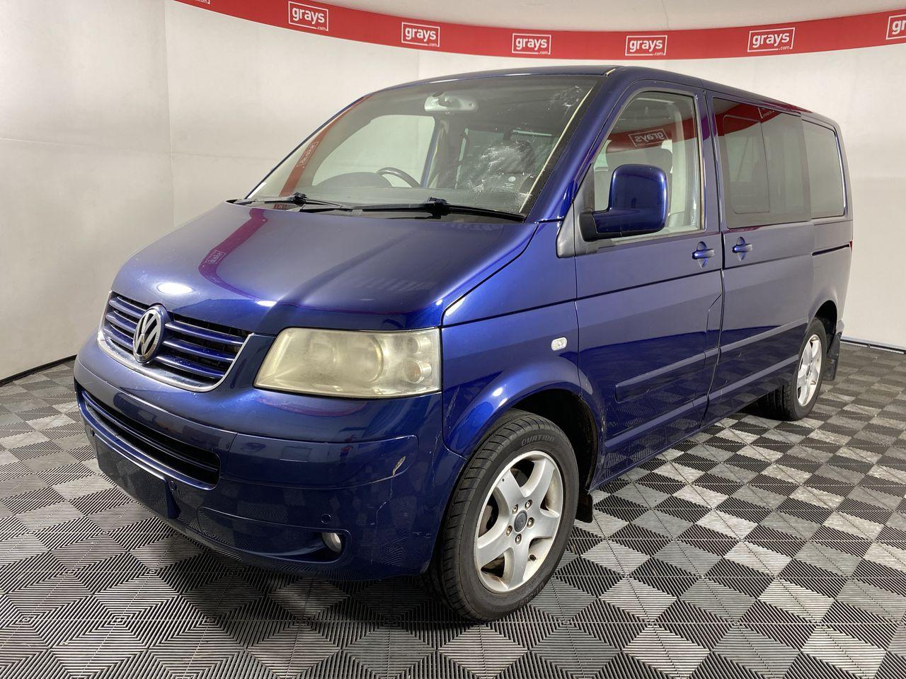2004 Volkswagen Multivan Highline T5 T/Diesel Auto 7 Seats (WOVR)