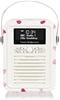 VQ Mini DAB & DAB+ Digital Radio with FM & AM. Bluetooth & Alarm Clock. Whi