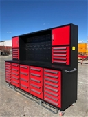 2021 Unused 40 Drawer Work Bench / Tool Cabinets - Melbourne