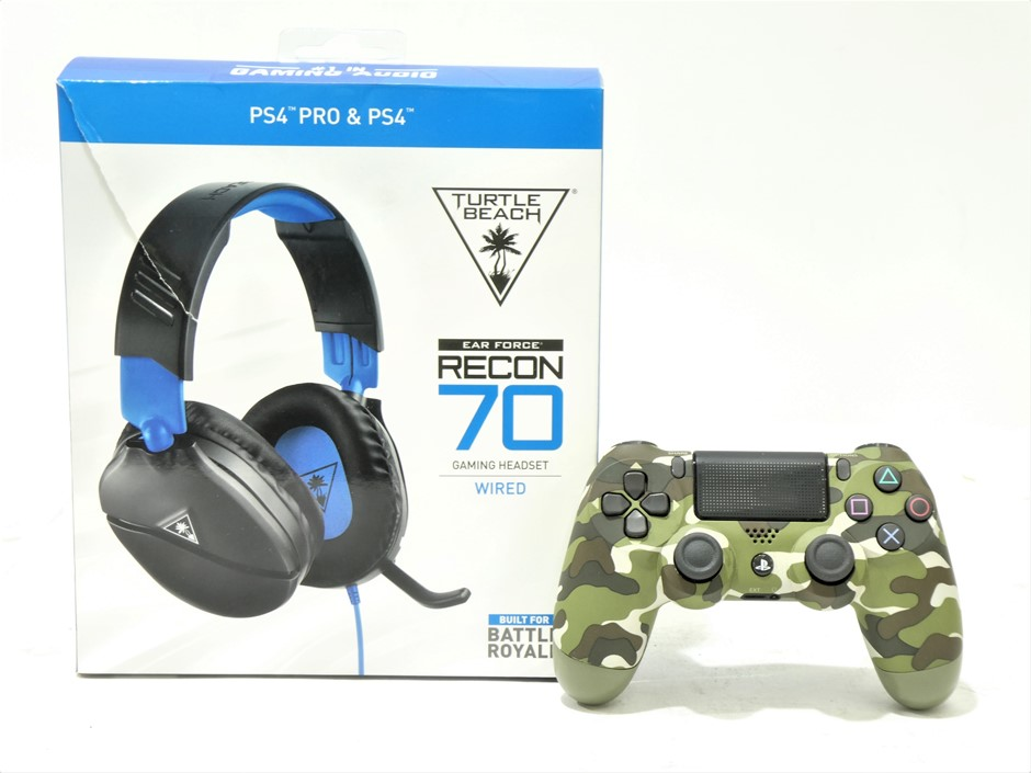 Pair of Untested Playstation Accessories