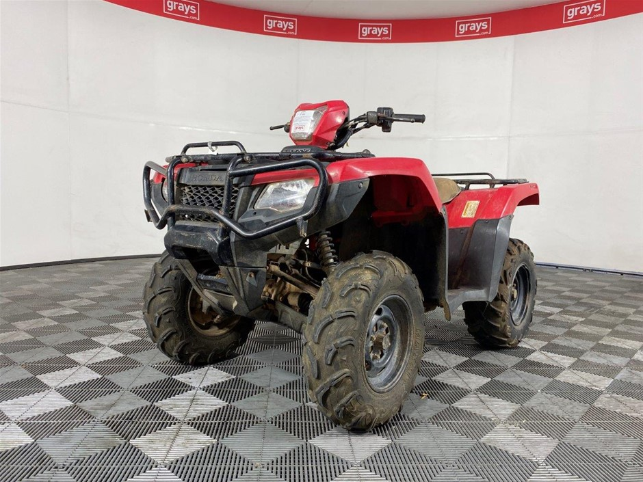 2015 Honda TRX 500 1 seater Quad, 15446 km indicated