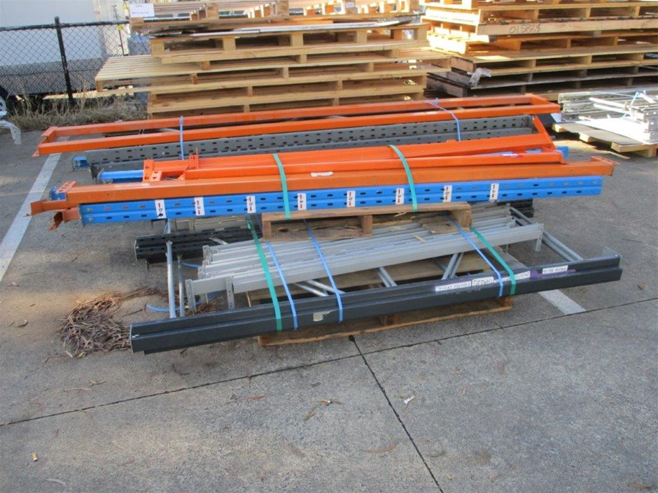Quantity of Assorted Steel Racking