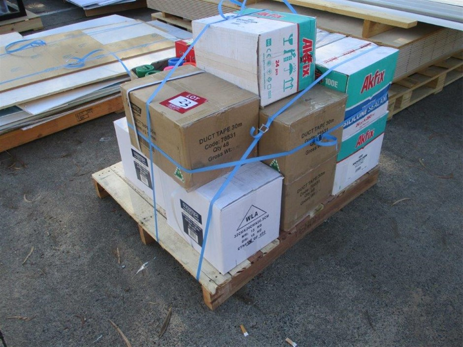 Quantity of Assorted Building Products