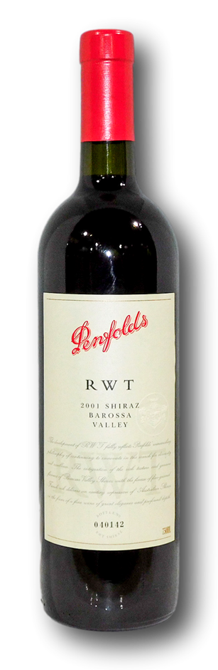 Penfolds RWT Shiraz 2001 (1x 750mL), Barossa
