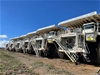 9x Terex/ Caterpillar MT4400 Dump Trucks and 2x Parts Trucks