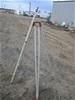 Pentax surveyers tripod and staff