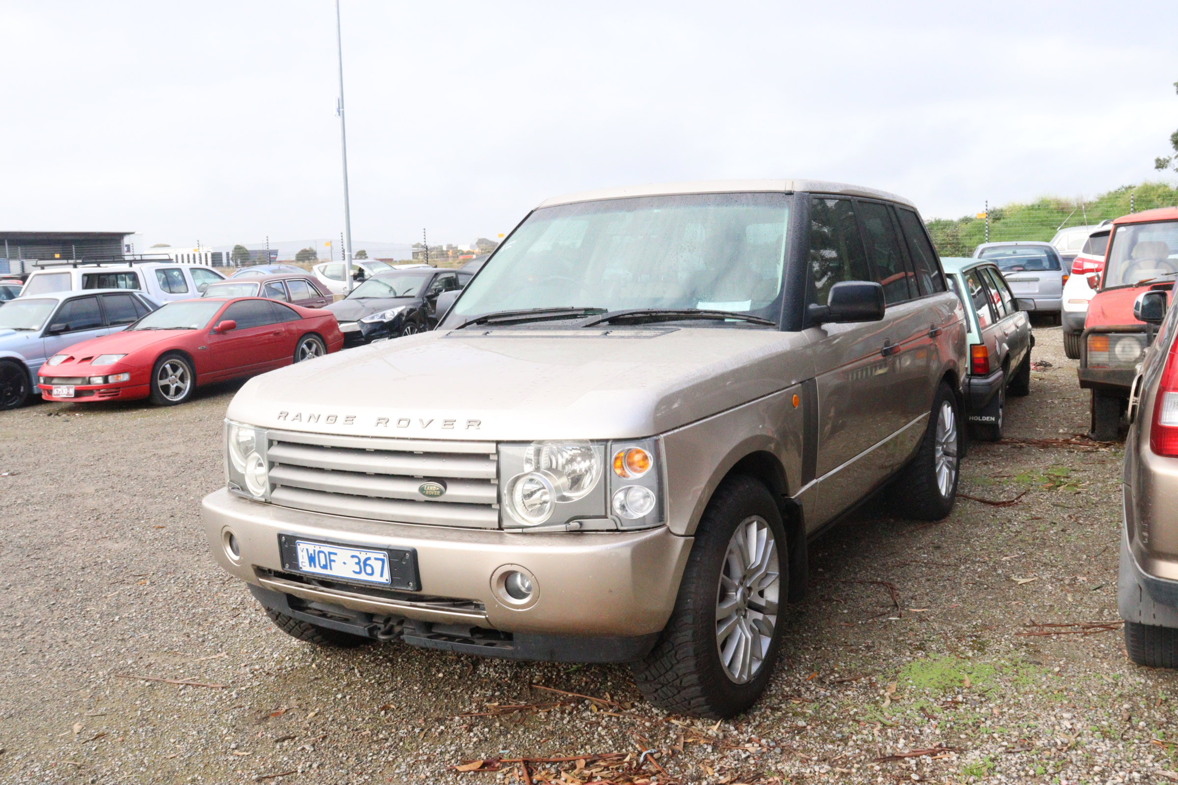 2002 Land Rover Range Rover HSE Automatic Wagon