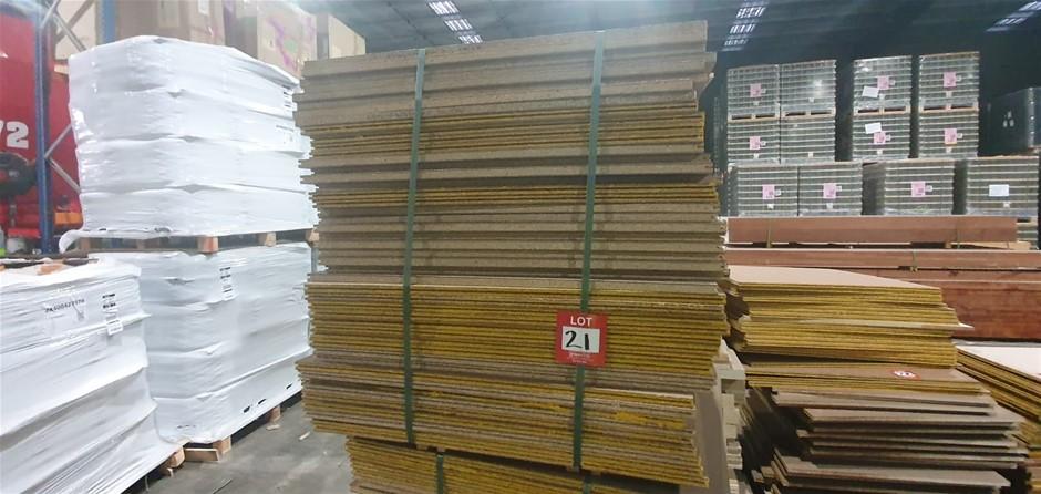 Particle board 980cm x 980cm 46 sheets
