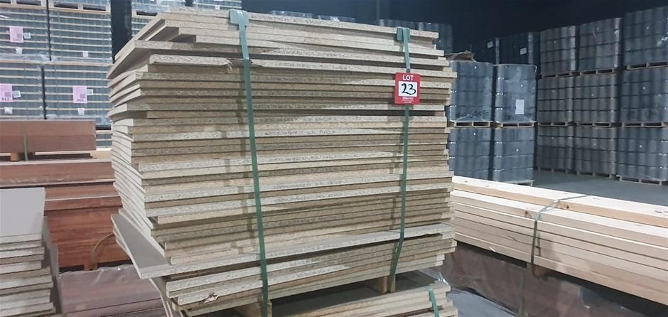Particle board 1130cm x 1000cm 43 sheets