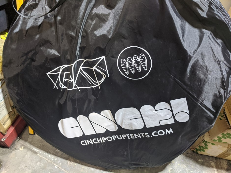 Cinch Pop Up Tent 4 Man - DELIVERY AVAILABLE