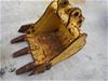 400mm Excavator Toothed Bucket