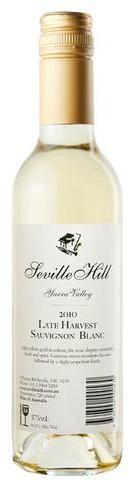 Seville Hill Late Harvest Sauvignon Blanc 2010 (12x 750mL) Yarra Valley