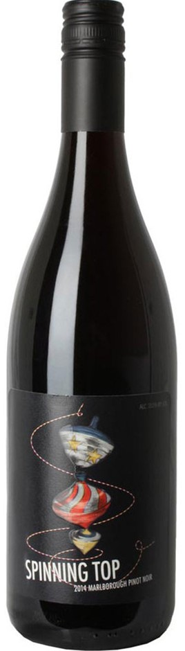 Spinning Top Pinot Noir 2019 (12x 750mL) Marlborough