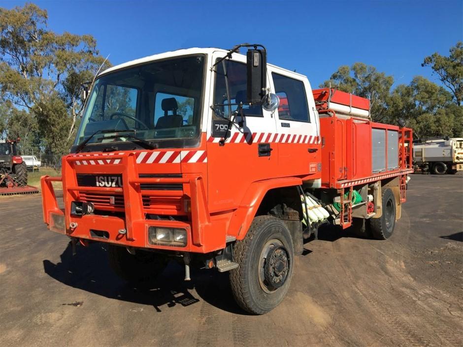 1993 Isuzu FTS700 Ex RF Fire Truck