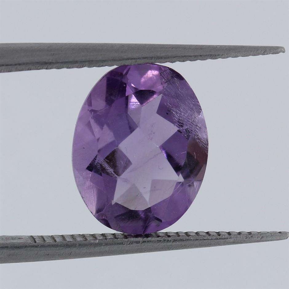 2.22ct AAA Vibrant Purple Amethyst