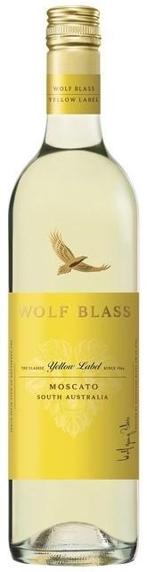 Wolf Blass Yellow Label Moscato 2020 (6x 750mL).